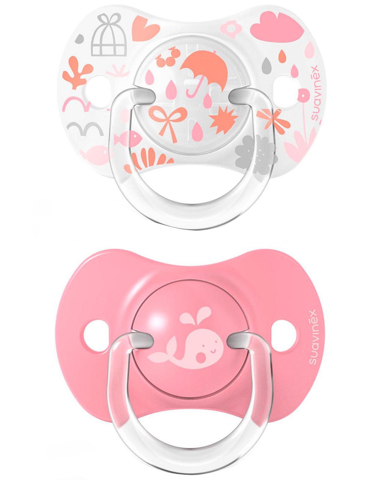 Купить 2284960, Соска Suavinex, розовый, 5104520170160