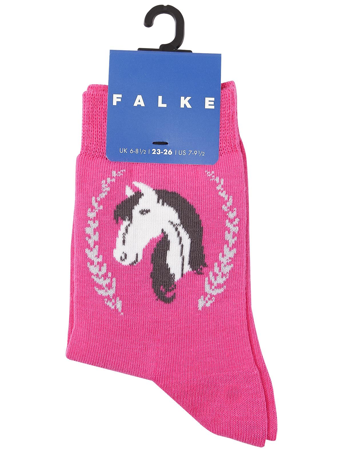 Купить 1959333, Носки FALKE, розовый, Женский, 1532609970556