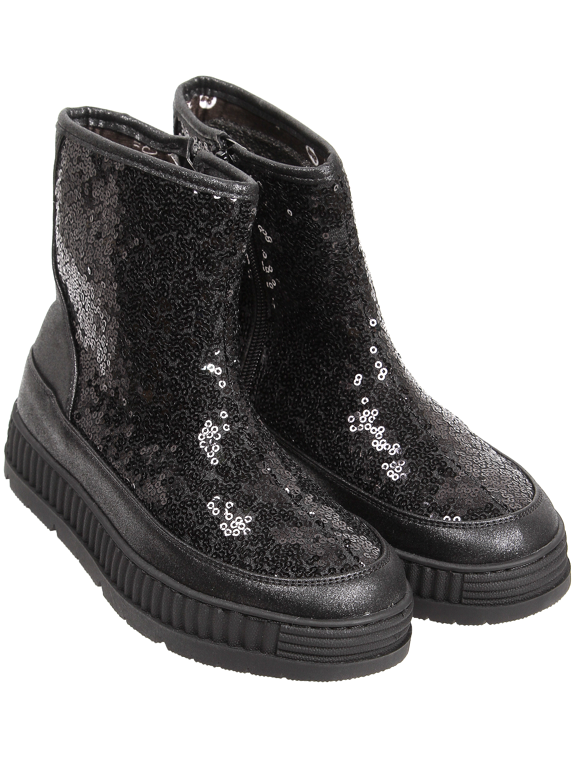 Ботинки GIOSEPPO черного цвета