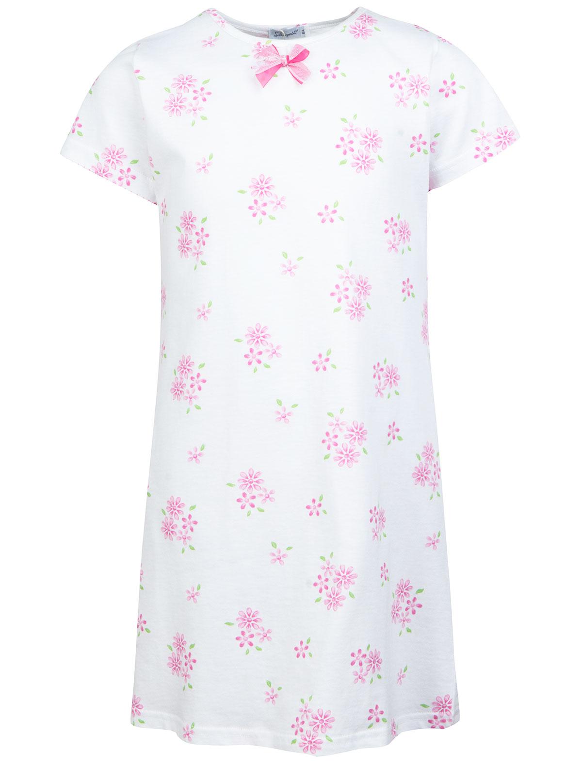 Купить 1929075, Ночная рубашка Sottocoperta, белый, Женский, 3341209670036