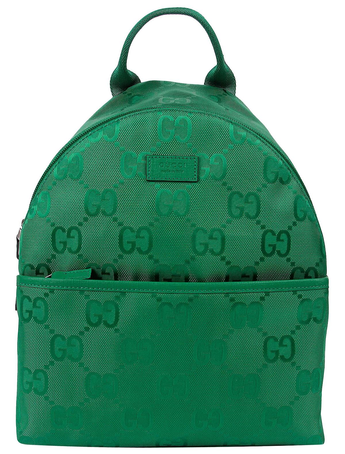 Рюкзак GUCCI 2277242 зеленого цвета