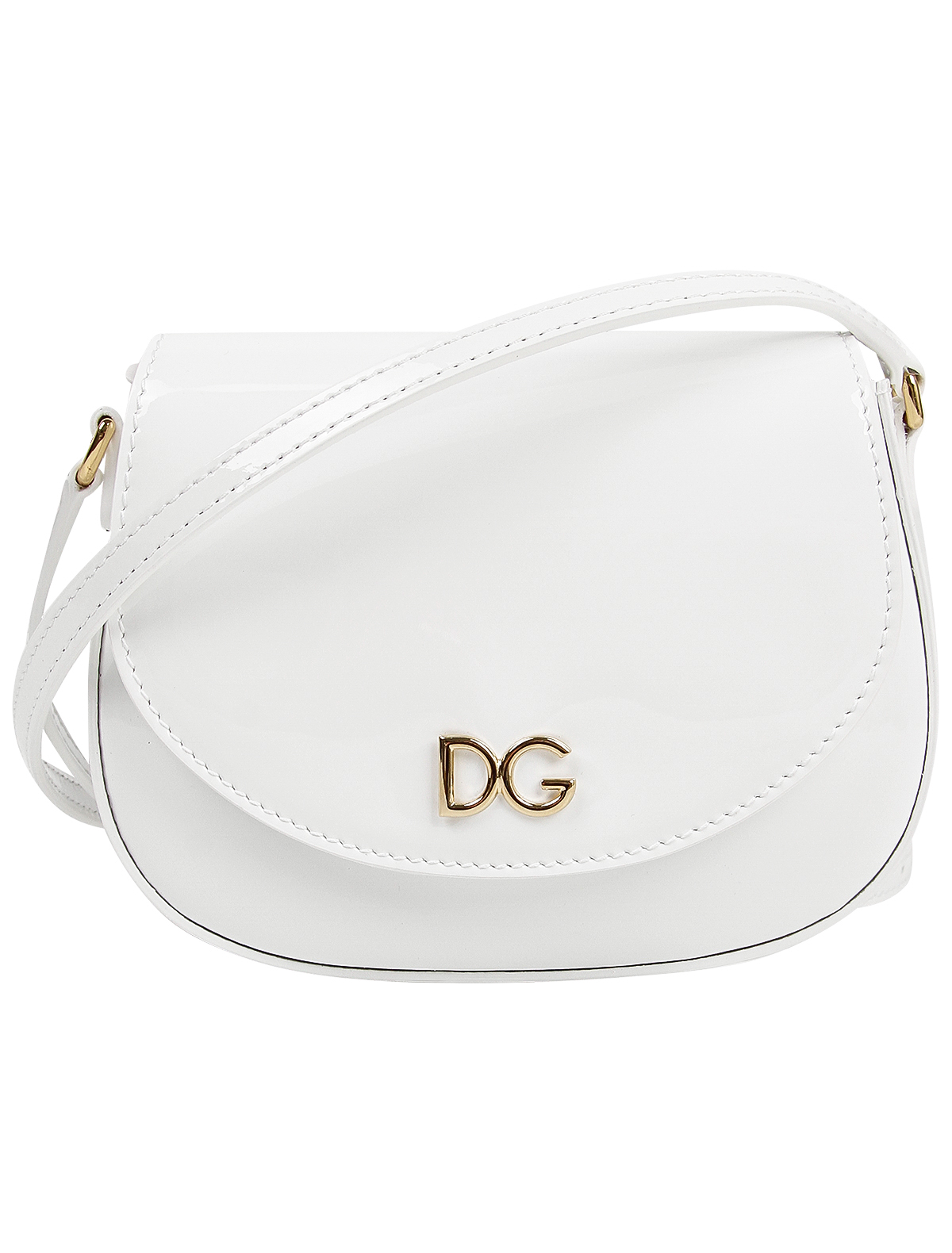 Сумка Dolce & Gabbana 2232648 белого цвета