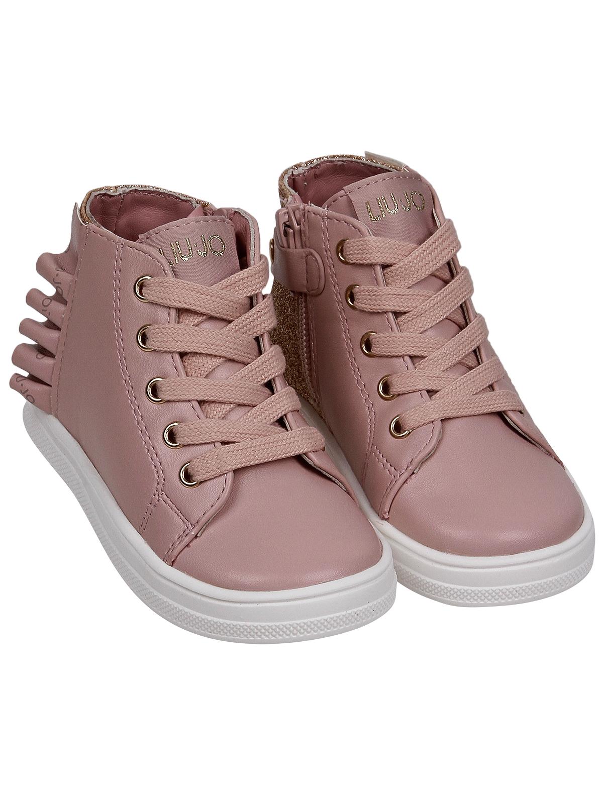 Купить 2254753, Ботинки Liu Jo Junior, розовый, Женский, 2034509083408