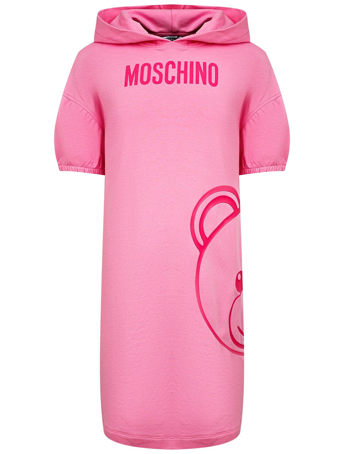 Купить 2290507, Платье Moschino, розовый, Женский, 1054509178721