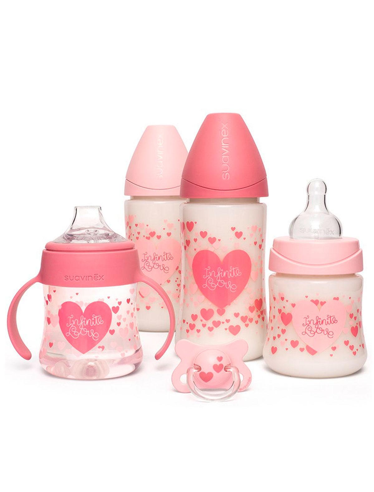 Купить 2269045, Бутылочка Suavinex, розовый, 5114520080246