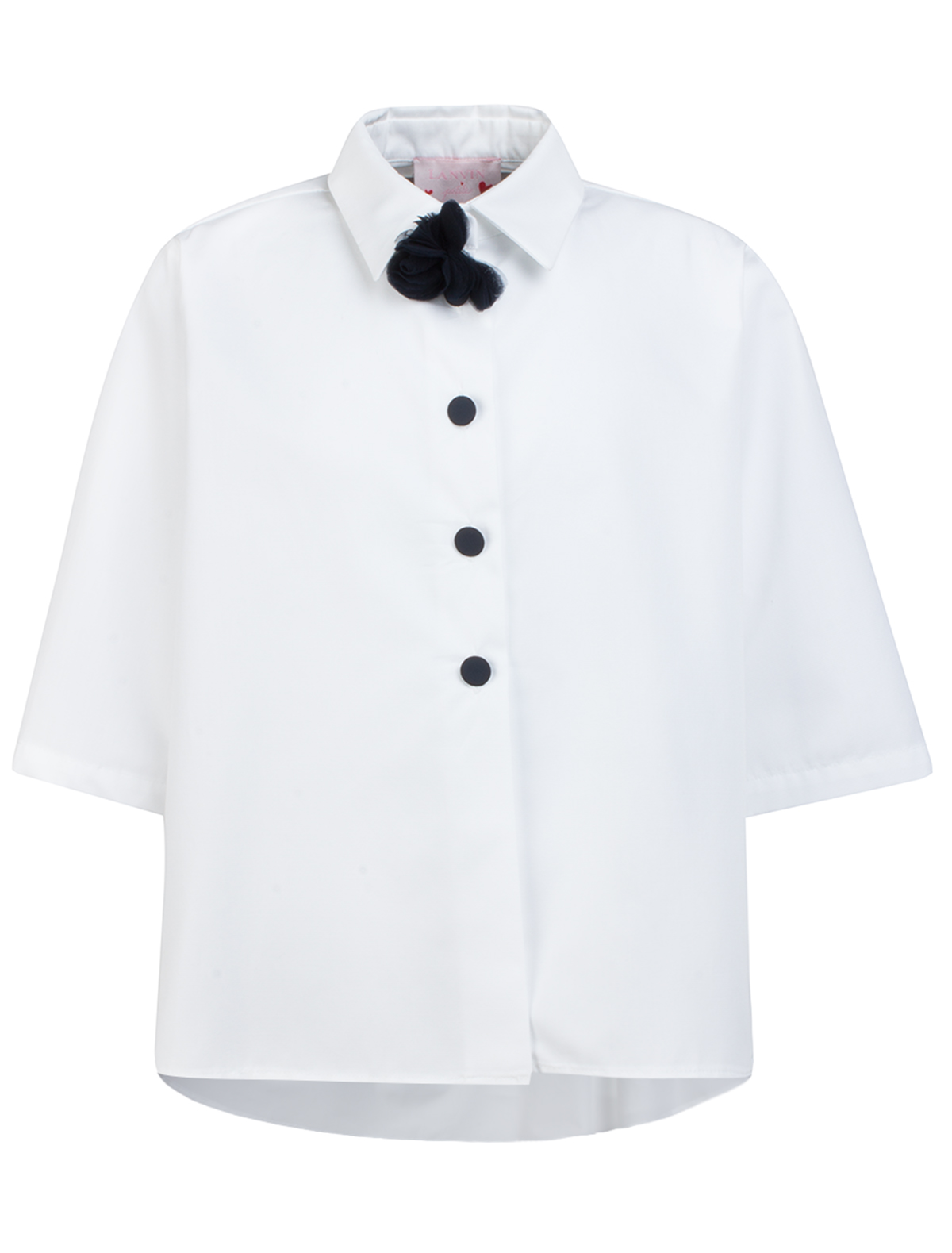 Купить 1864809, Блуза Lanvin, белый, Женский, 1031209670069