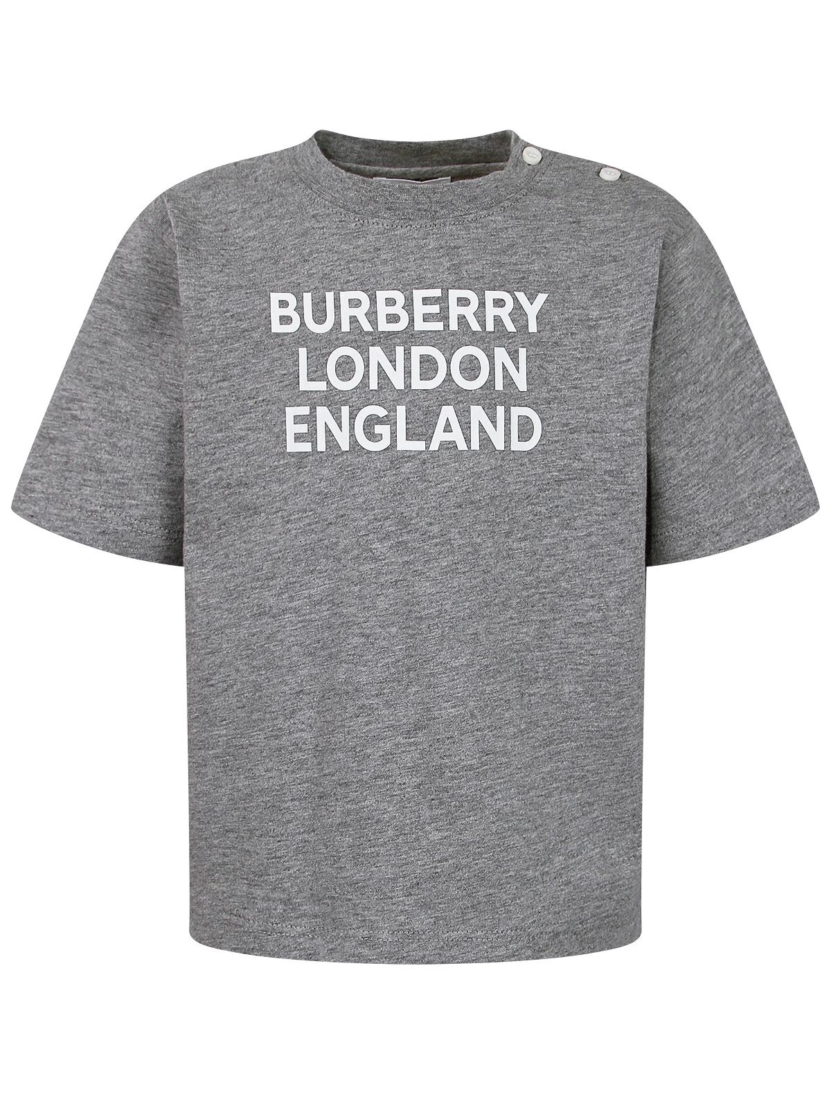 2289792, Футболка Burberry, серый, 1134529174610  - купить со скидкой