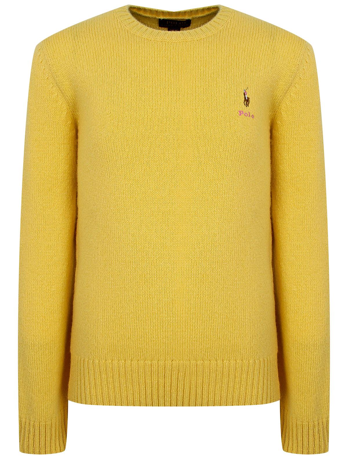 2263476, Джемпер Ralph Lauren, желтый, Женский, 1264509084476  - купить со скидкой