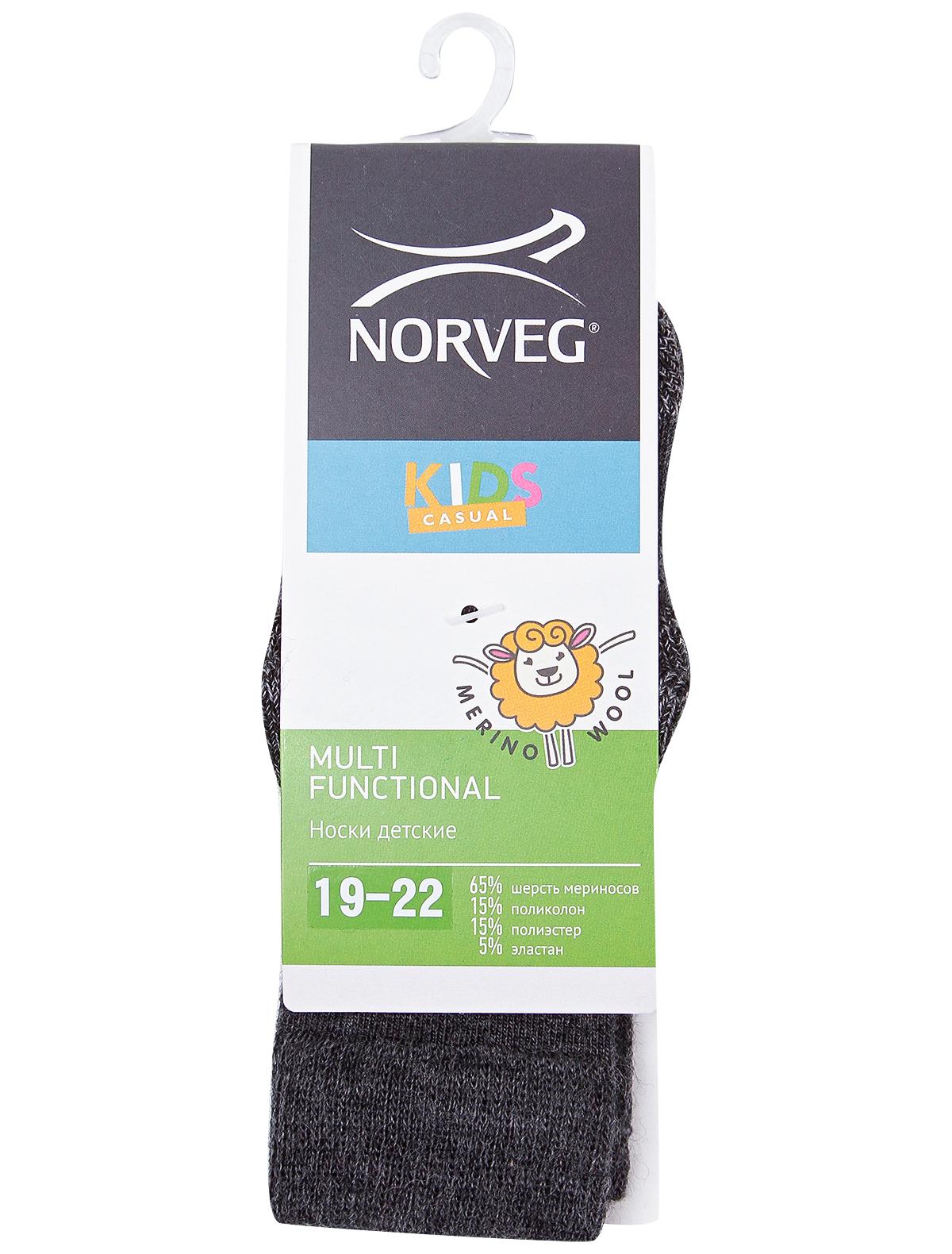 Купить 2106599, Носки NORVEG, серый, Мужской, 1531719980066