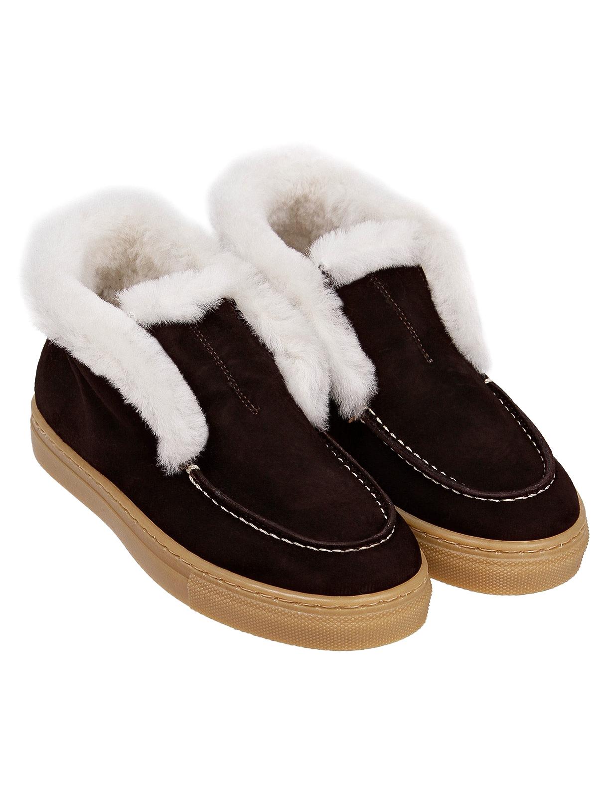 Купить 2236955, Ботинки GALLUCCI, коричневый, Мужской, 2034519081227