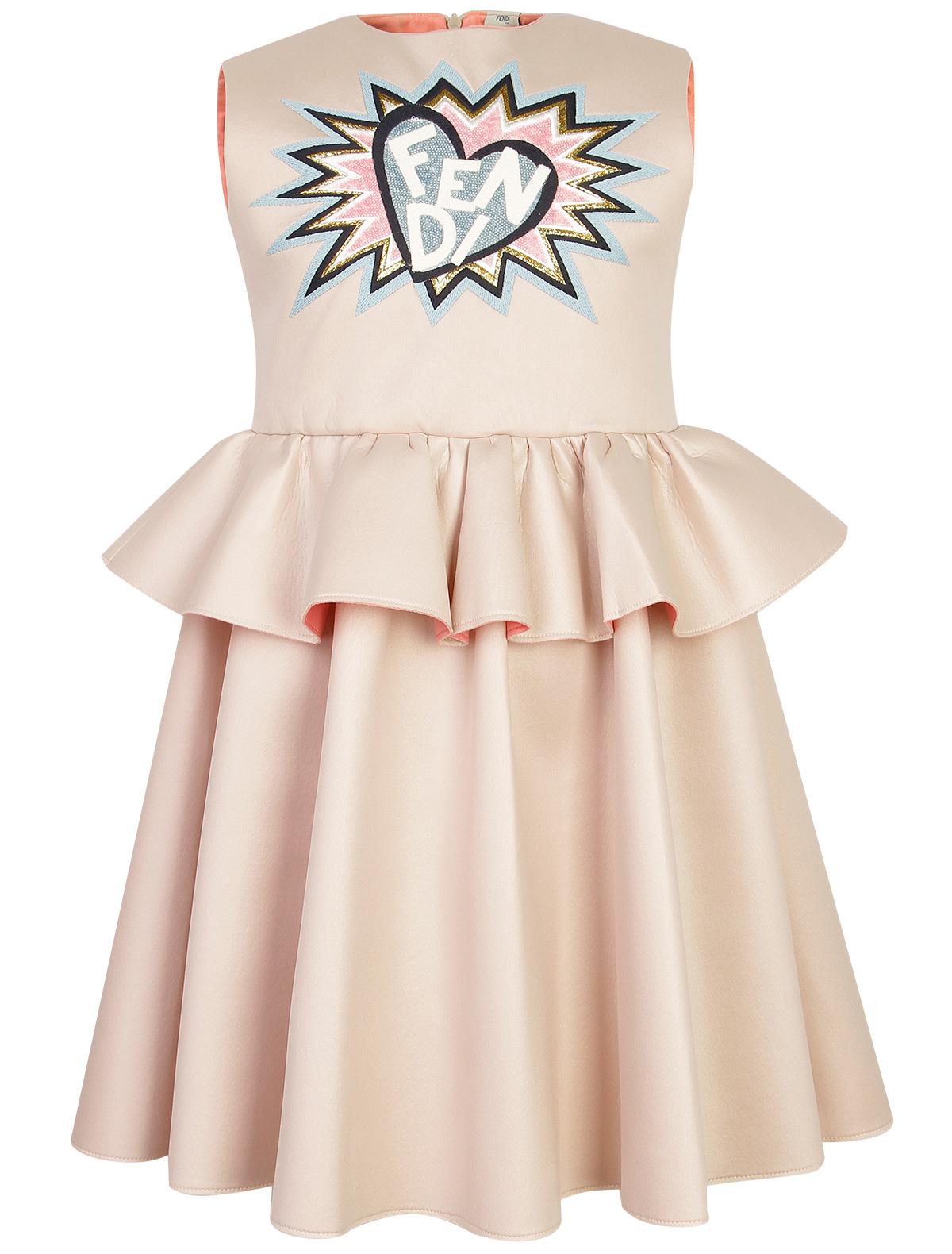 Купить 1870746, Платье Fendi, розовый, Женский, 1052609880155