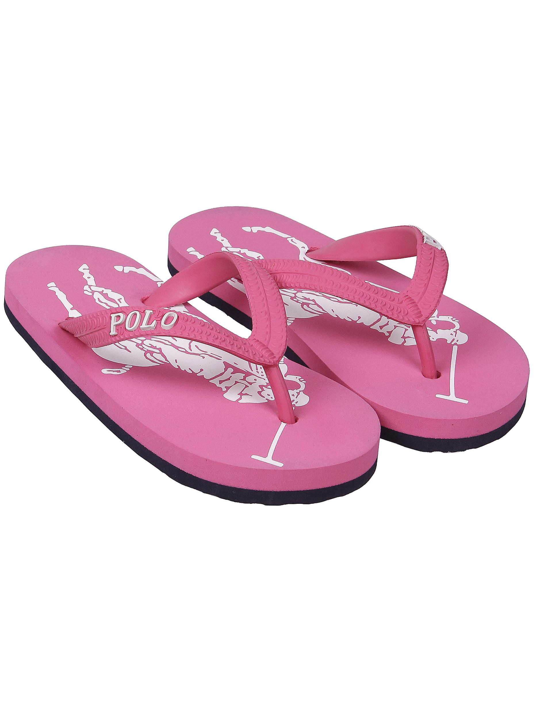 Купить 1996622, Шлепанцы пляжные Ralph Lauren, розовый, Женский, 2282609970436