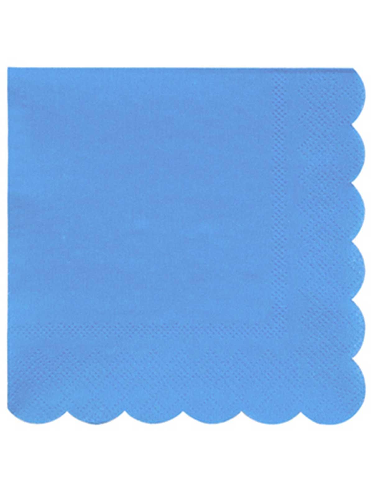 Купить 2259539, Салфетки бумажные Meri Meri, голубой, 6594520080429