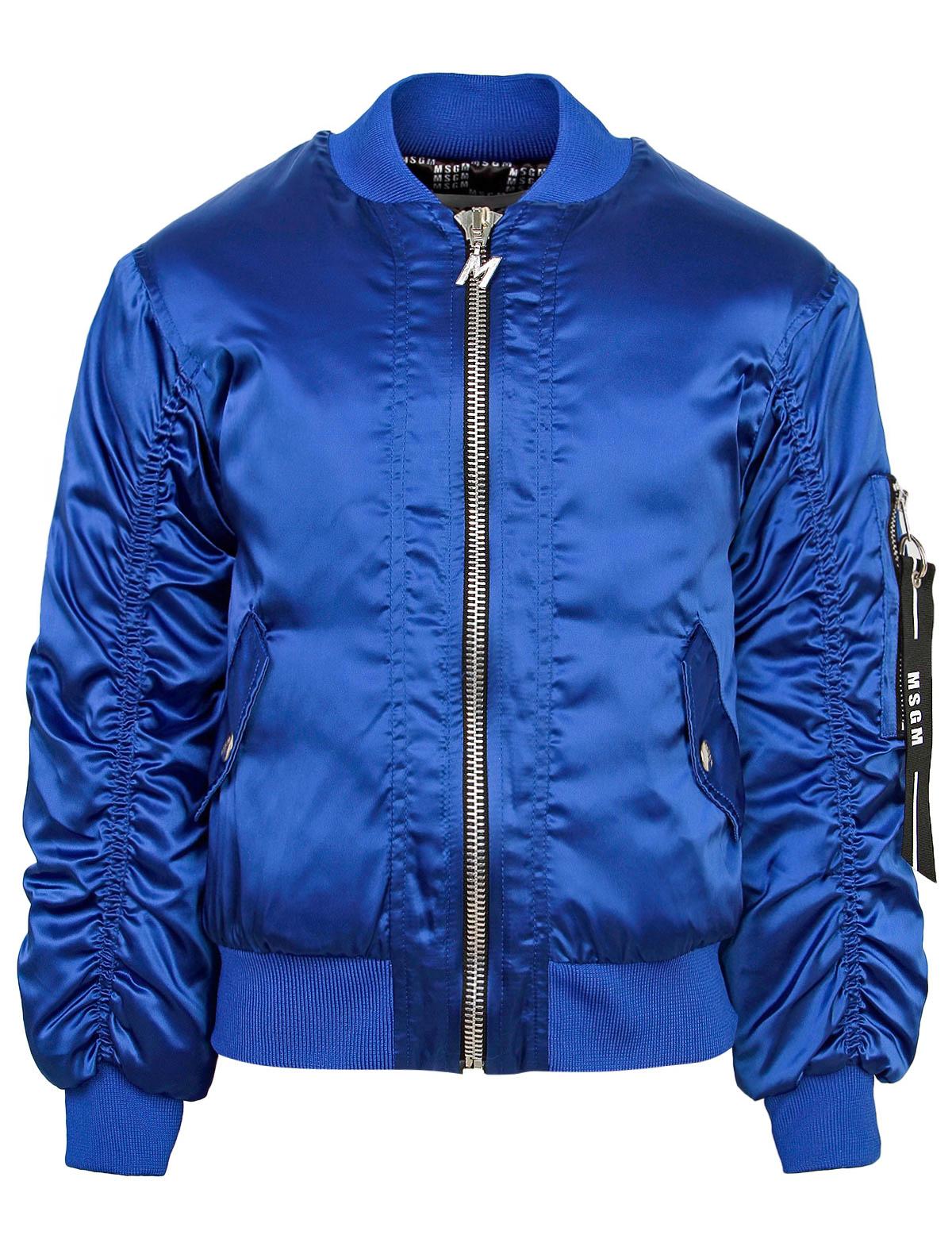 Куртка MSGM синего цвета