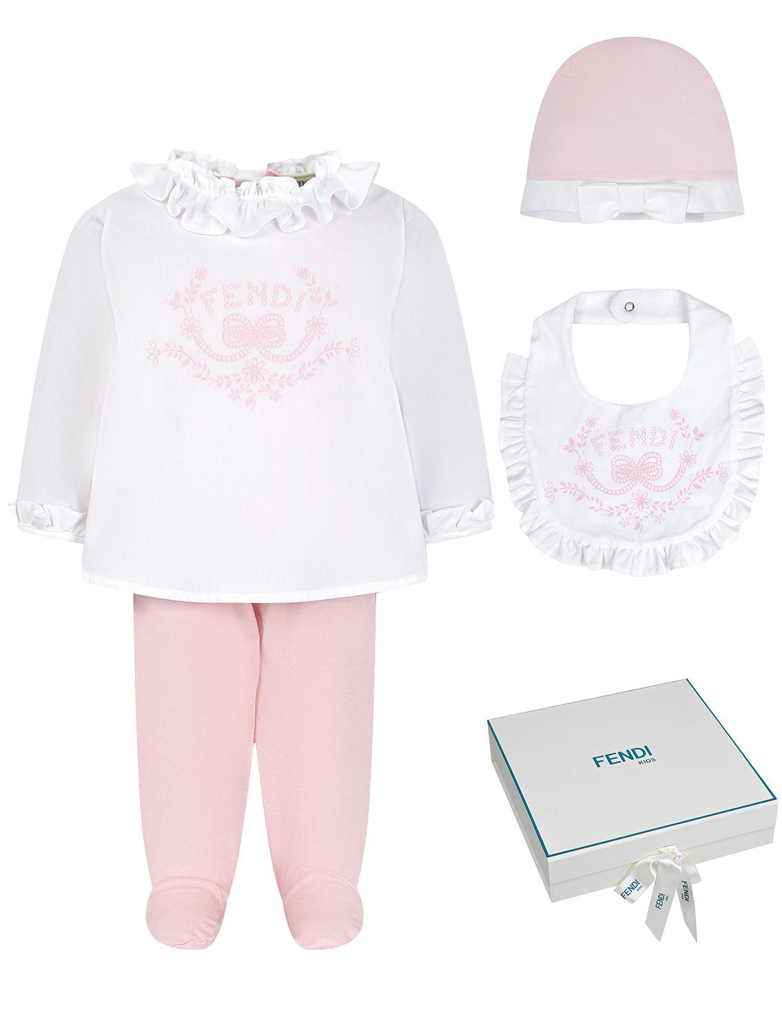 Купить 2269387, Комплект из 3 шт. Fendi, розовый, Женский, 3034509870014