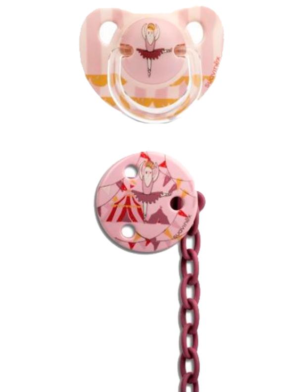 Купить 2268994, Соска Suavinex, розовый, 5104520080100