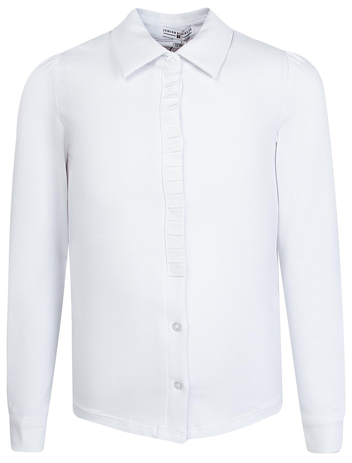 Купить 2025738, Блуза JUNIOR REPUBLIC, белый, Женский, 1031209980045