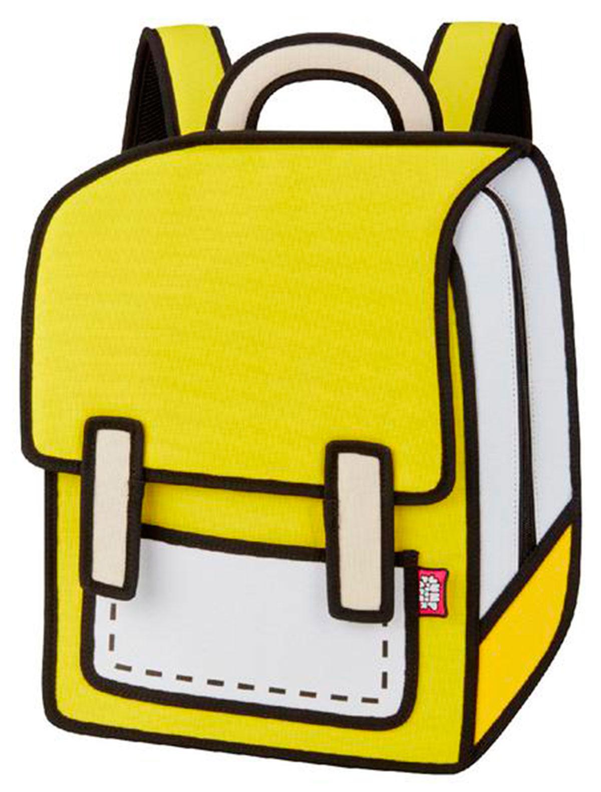 Купить 2220664, Рюкзак Jump From Paper, желтый, 1504528080029