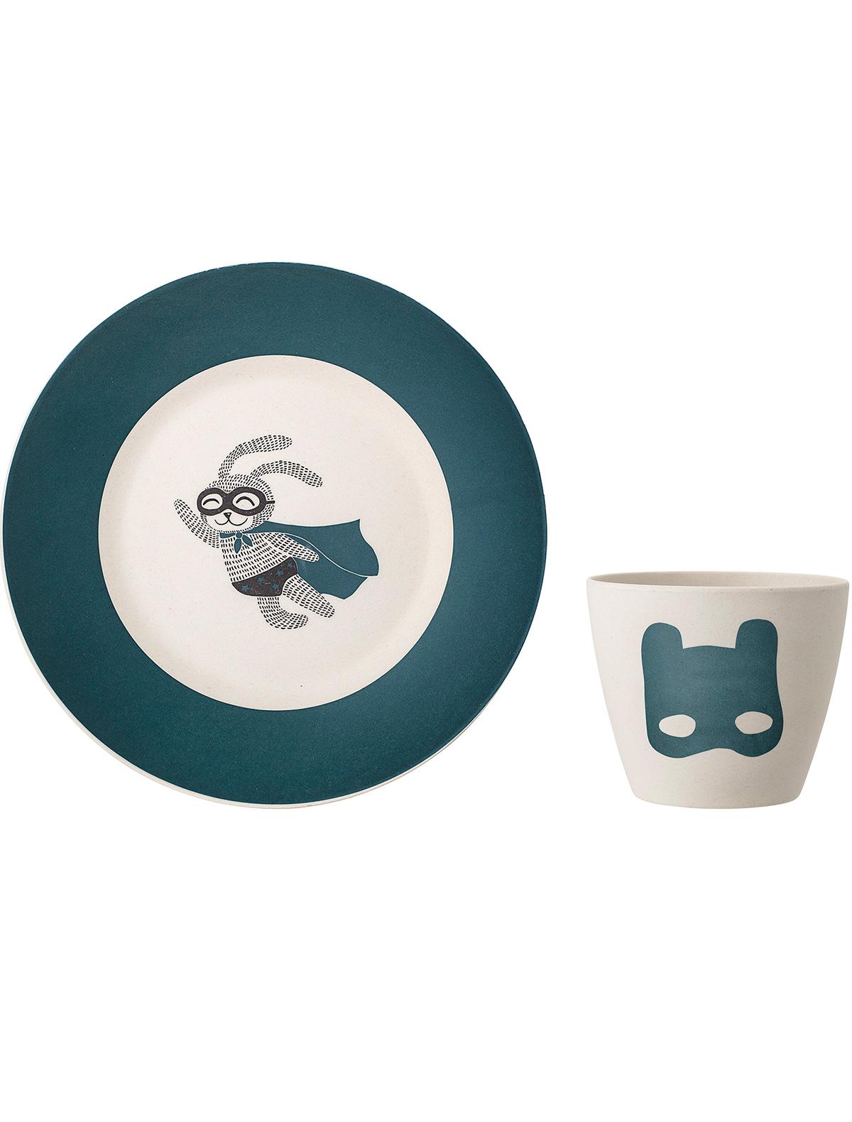 Купить 2214142, Набор посуды Bloomingville, зеленый, 2294520070089