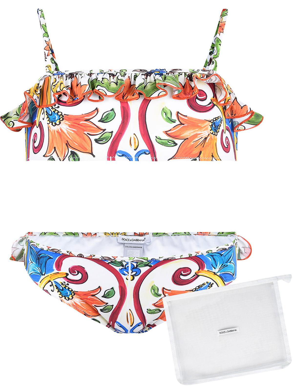 Купить 1862641, Купальник Dolce & Gabbana, разноцветный, Женский, 0882509871554