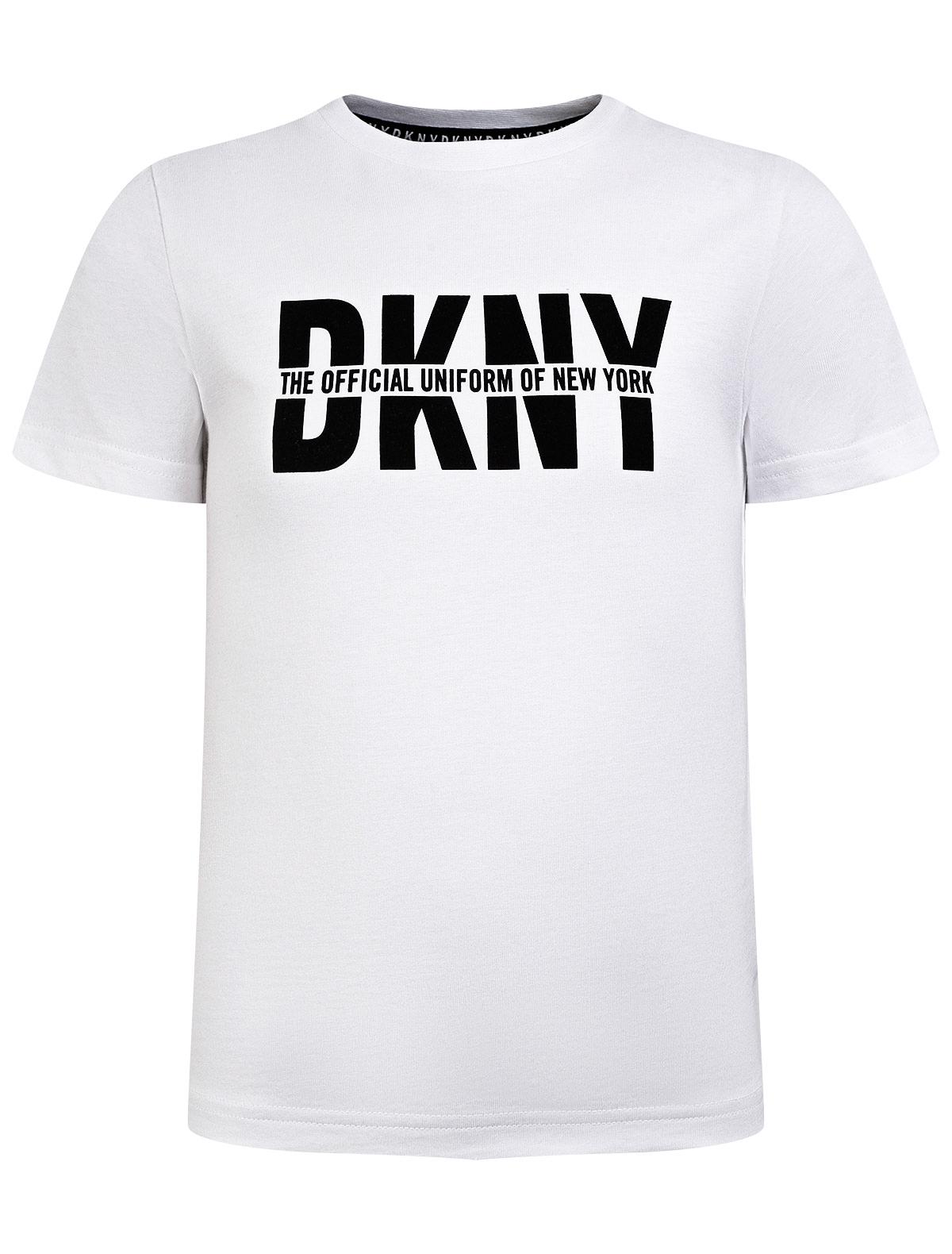 Купить 2283160, Футболка DKNY, белый, 1134529172890