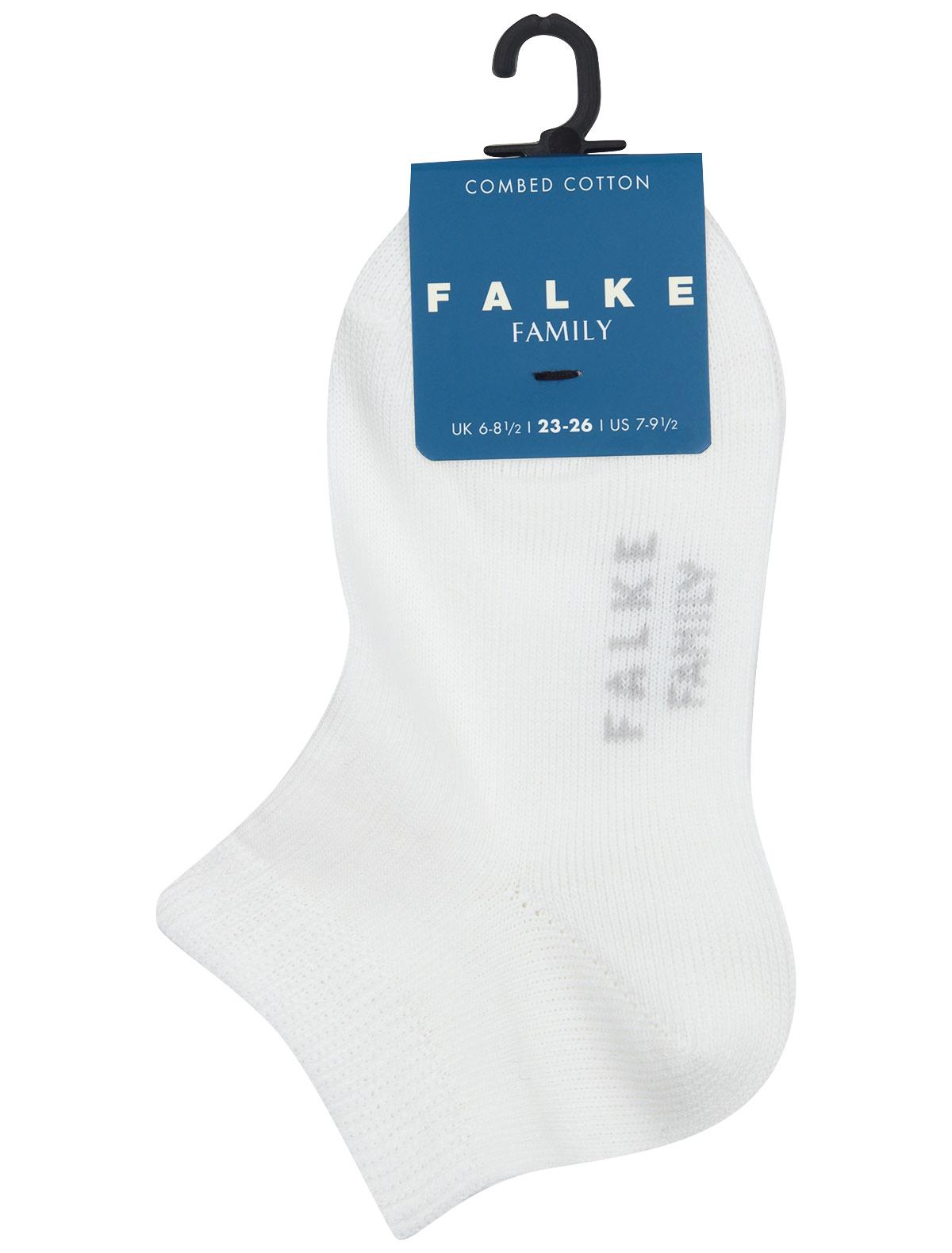 Купить 2300472, Носки FALKE, белый, 1534529170184