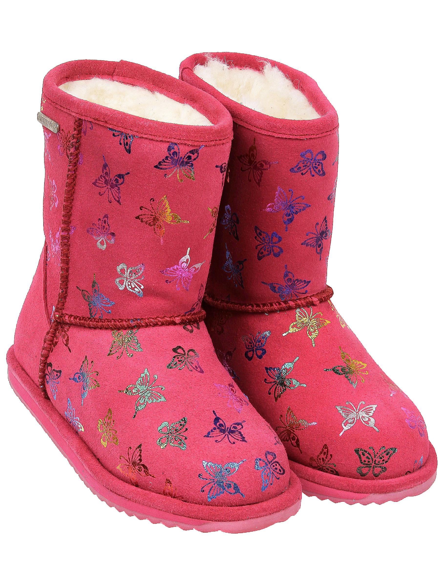Купить 2246237, Сапоги Emu Australia, розовый, Женский, 2024509080491