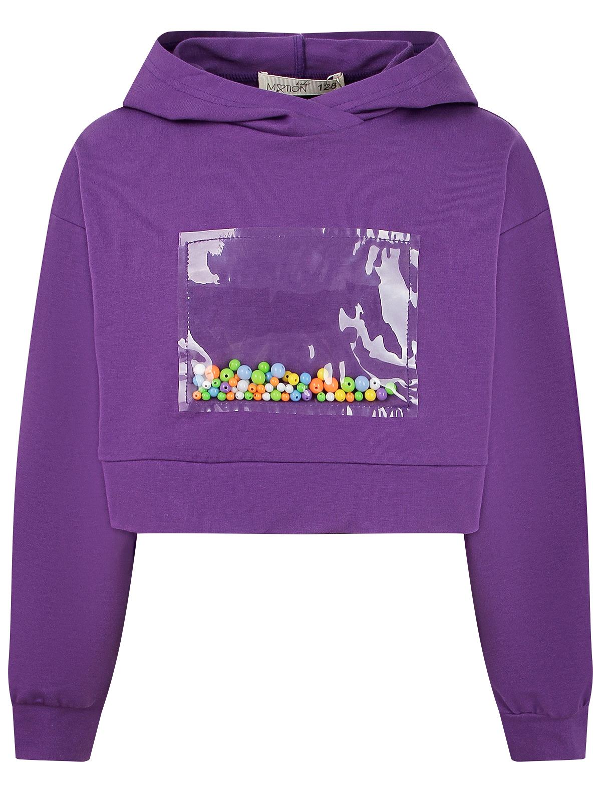 Купить 2321510, Худи Motion kids, фиолетовый, Женский, 0094500170073