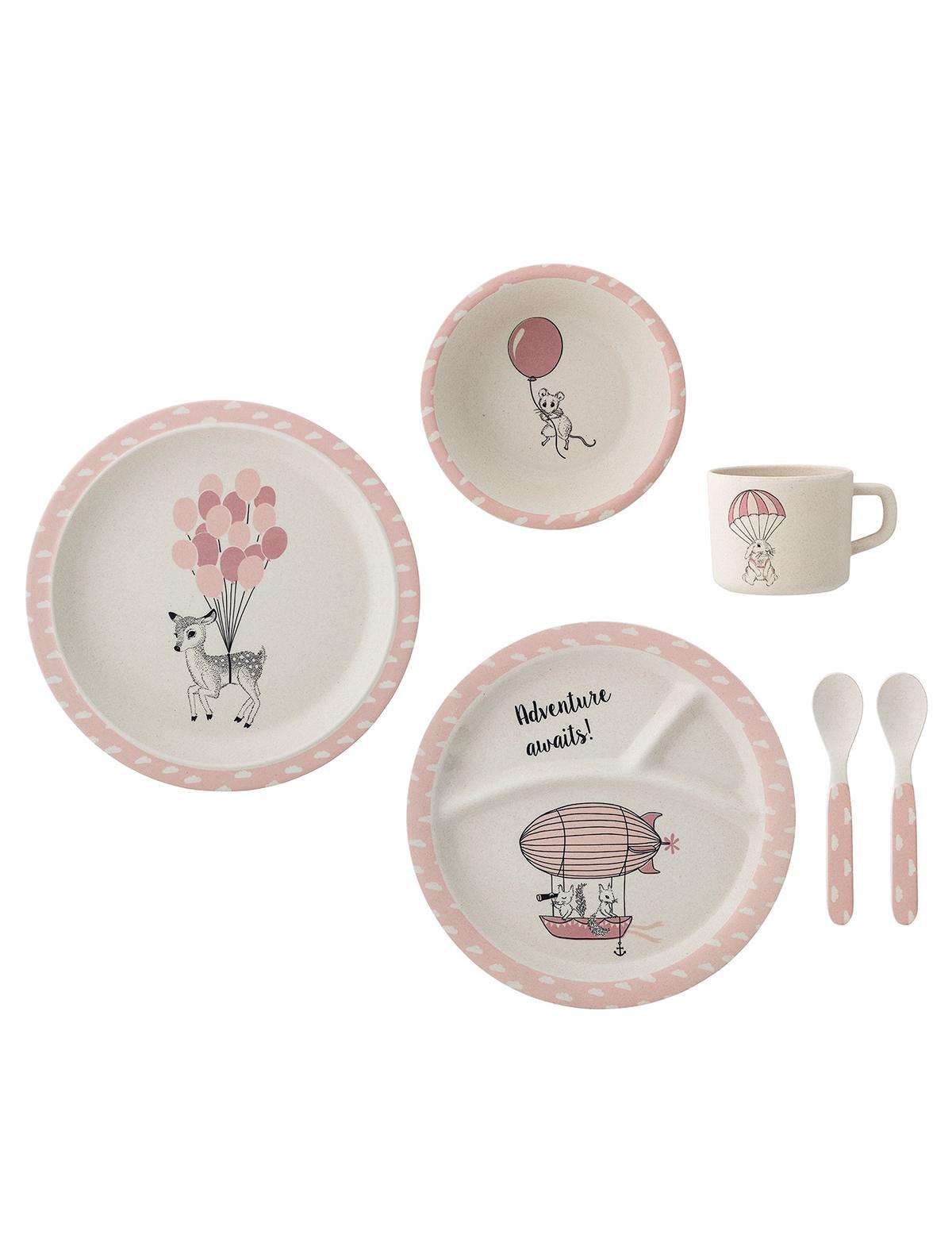 Купить 2214588, Набор посуды Bloomingville, розовый, Женский, 2294500070085