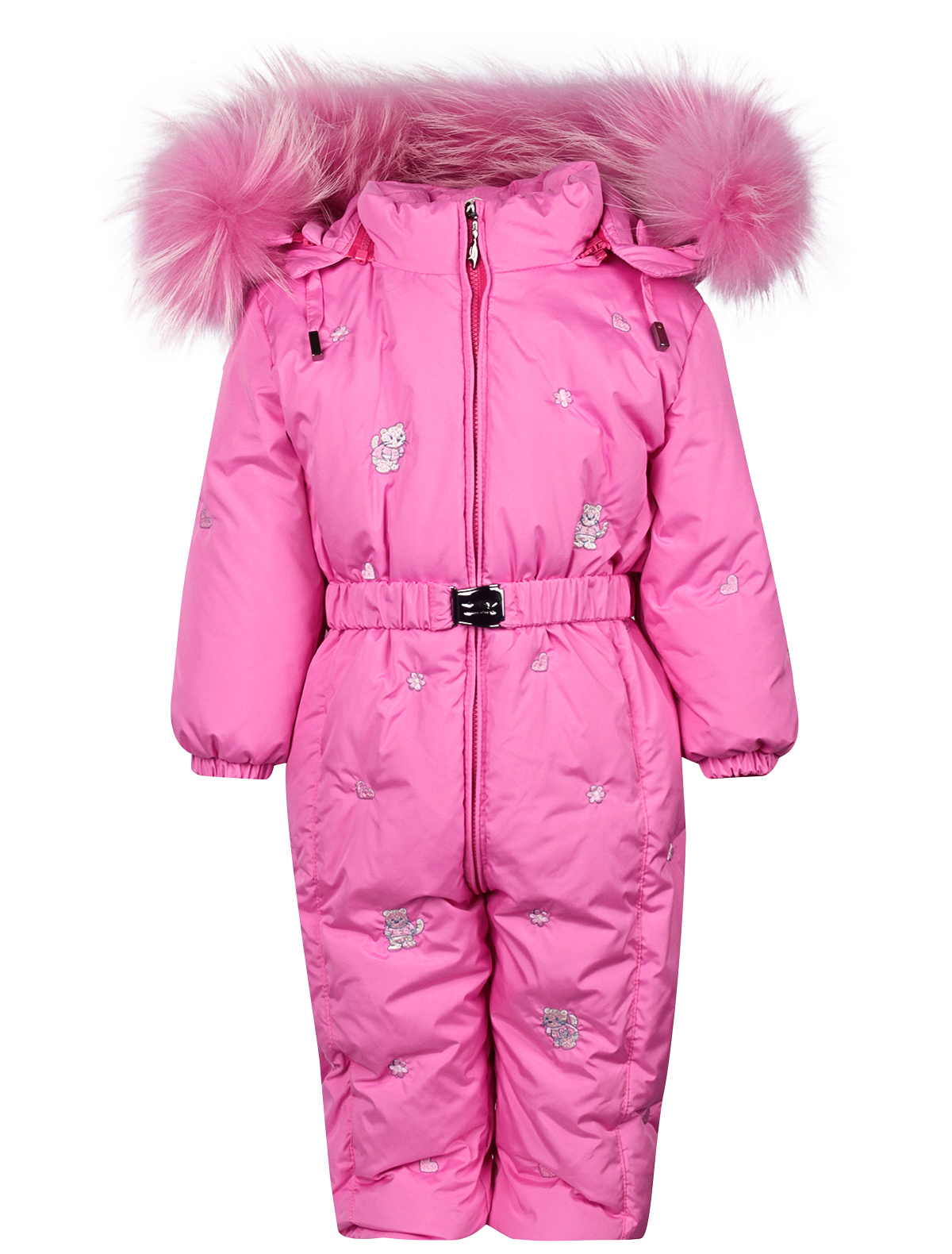 Купить 2122669, Комбинезон утепленный Manudieci, розовый, Женский, 1592609980863