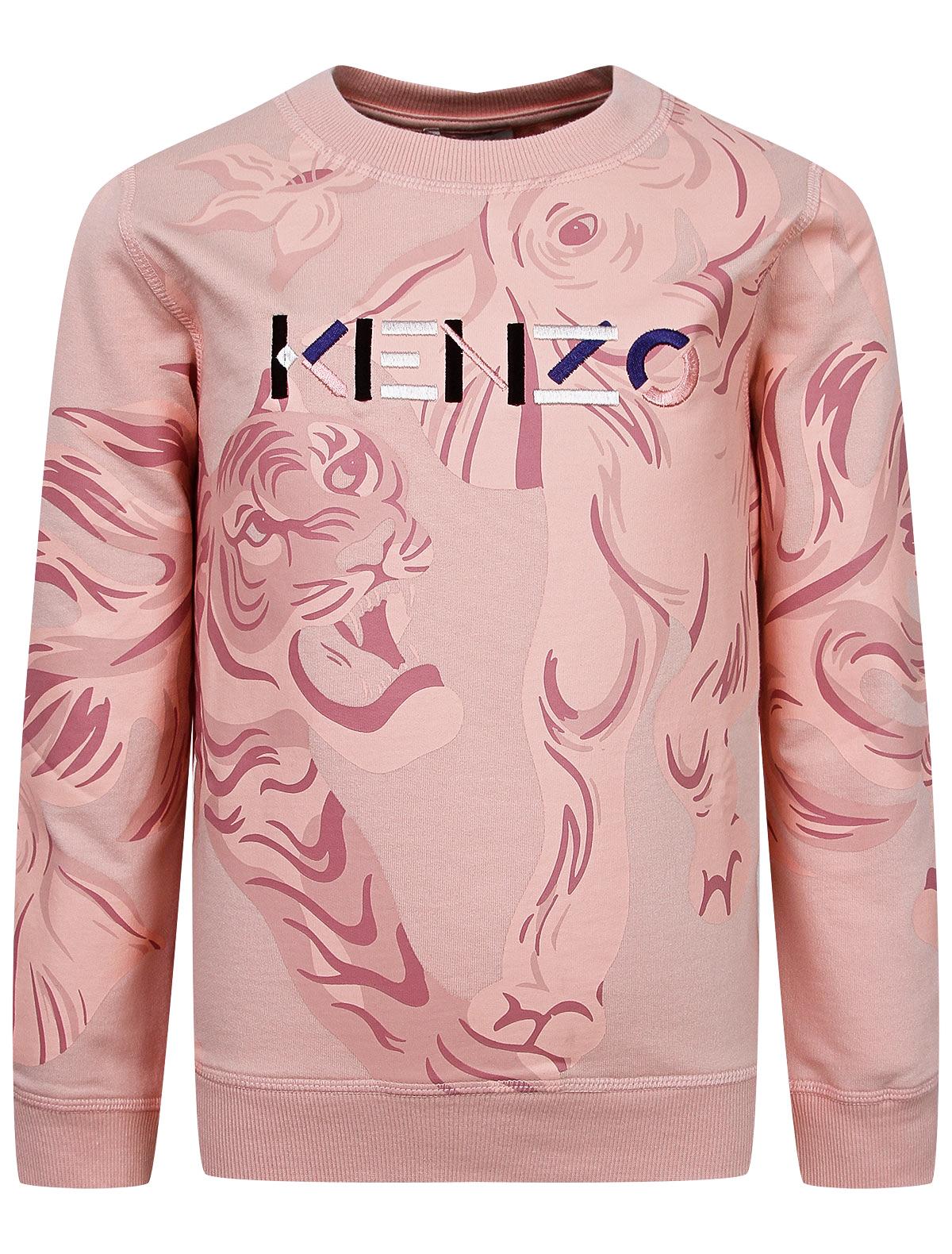 Свитшот KENZO розового цвета