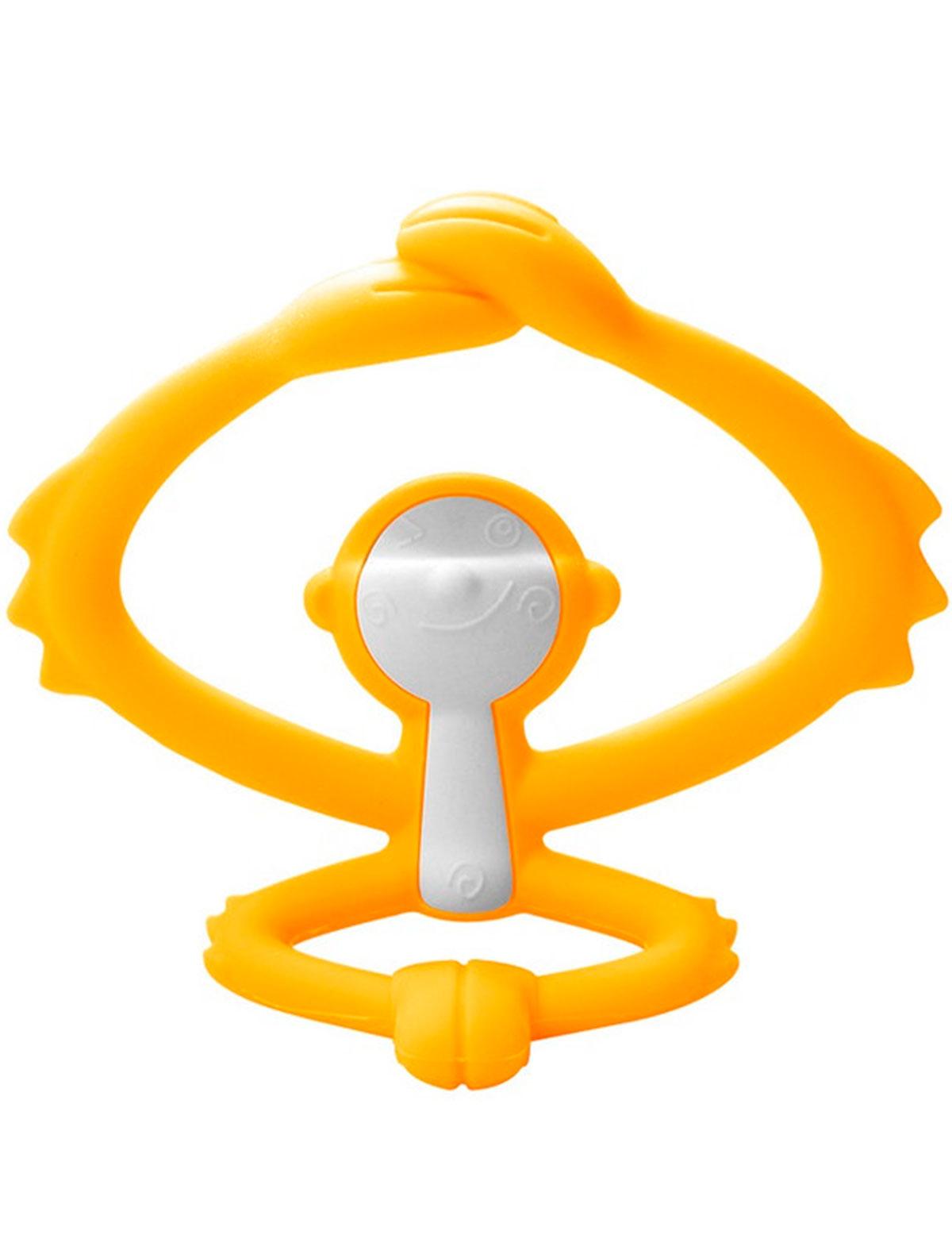 Купить 2217975, Прорезыватель для зубов Mombella, желтый, 5644520070287