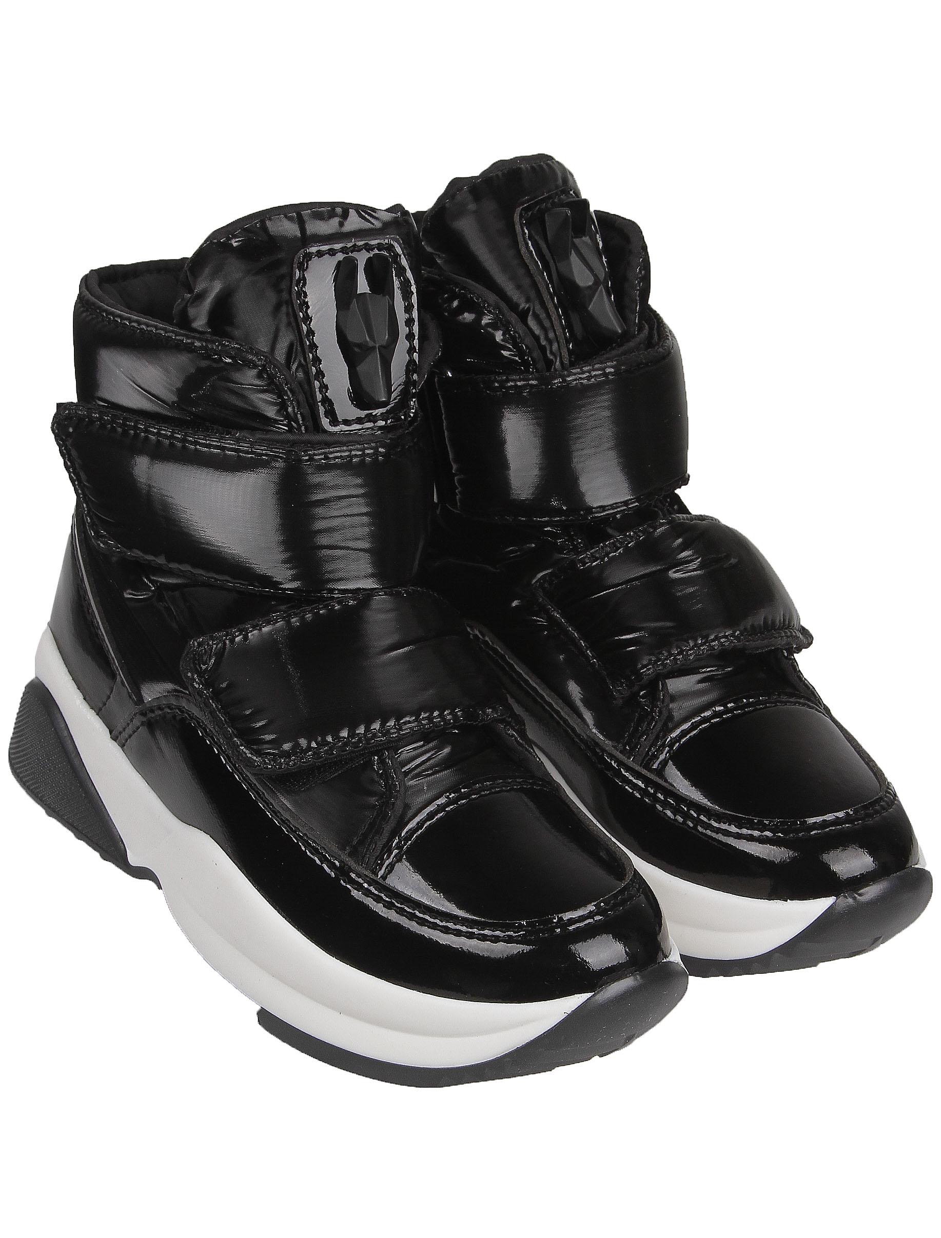 Ботинки Jog Dog черного цвета