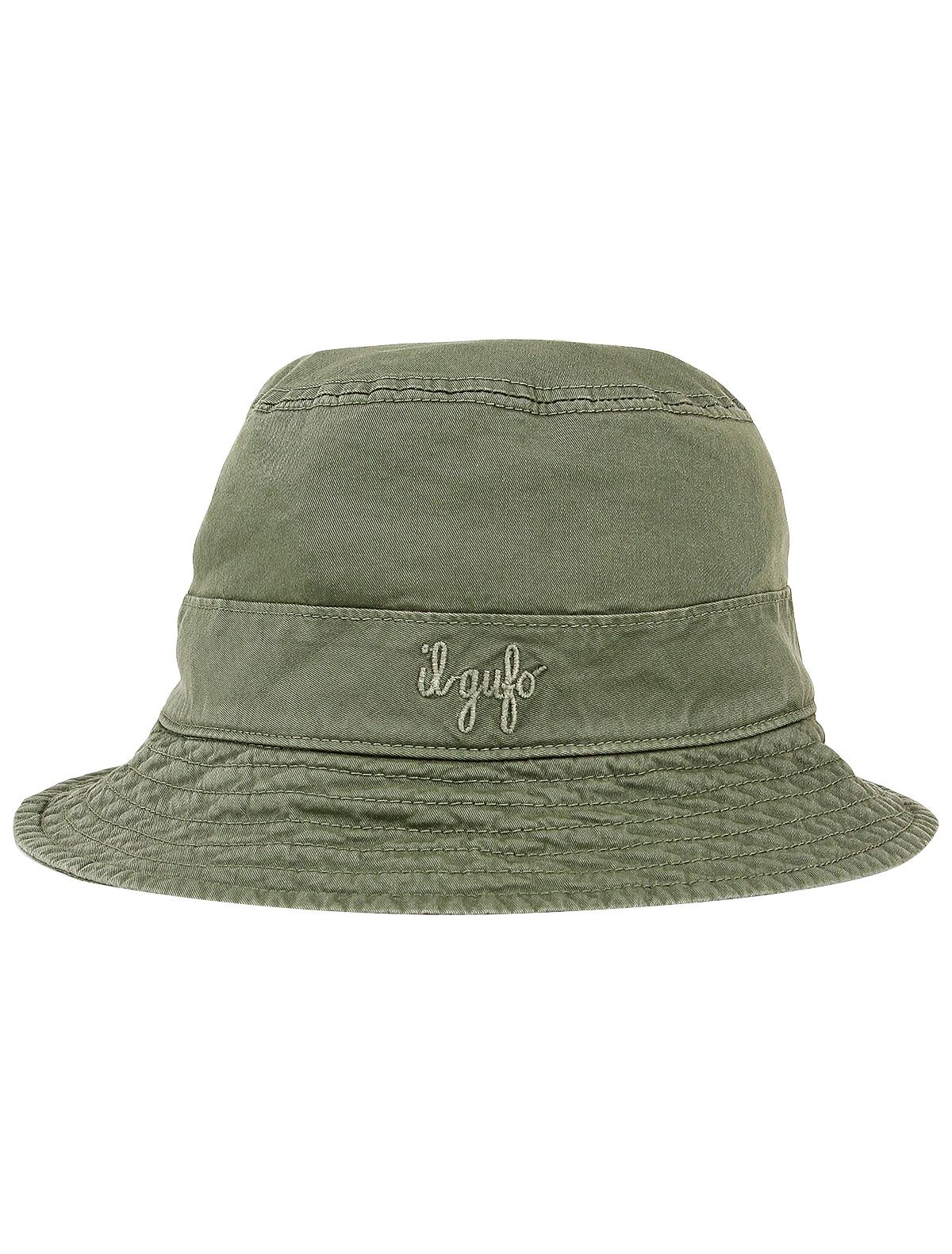 Купить 2199712, Панама Il Gufo, зеленый, Мужской, 1554519070102