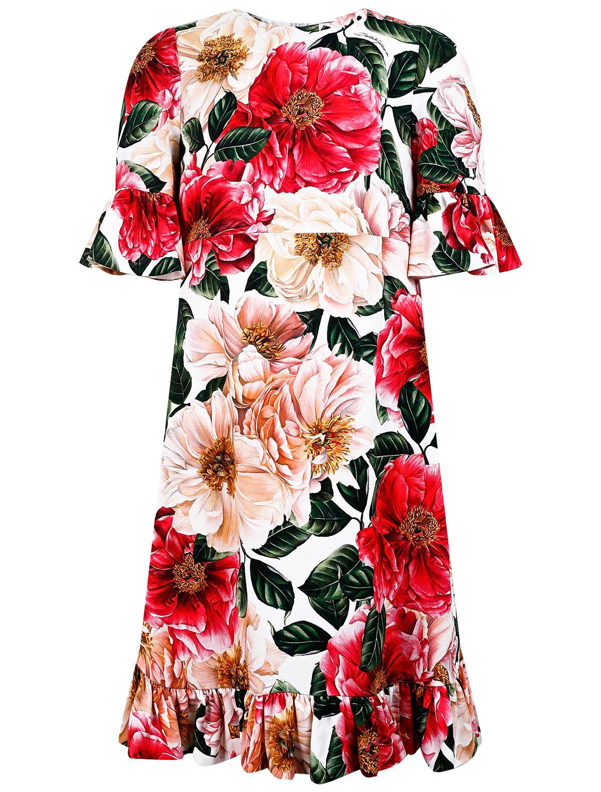 Купить 2282672, Платье Dolce & Gabbana, розовый, Женский, 1054509175423