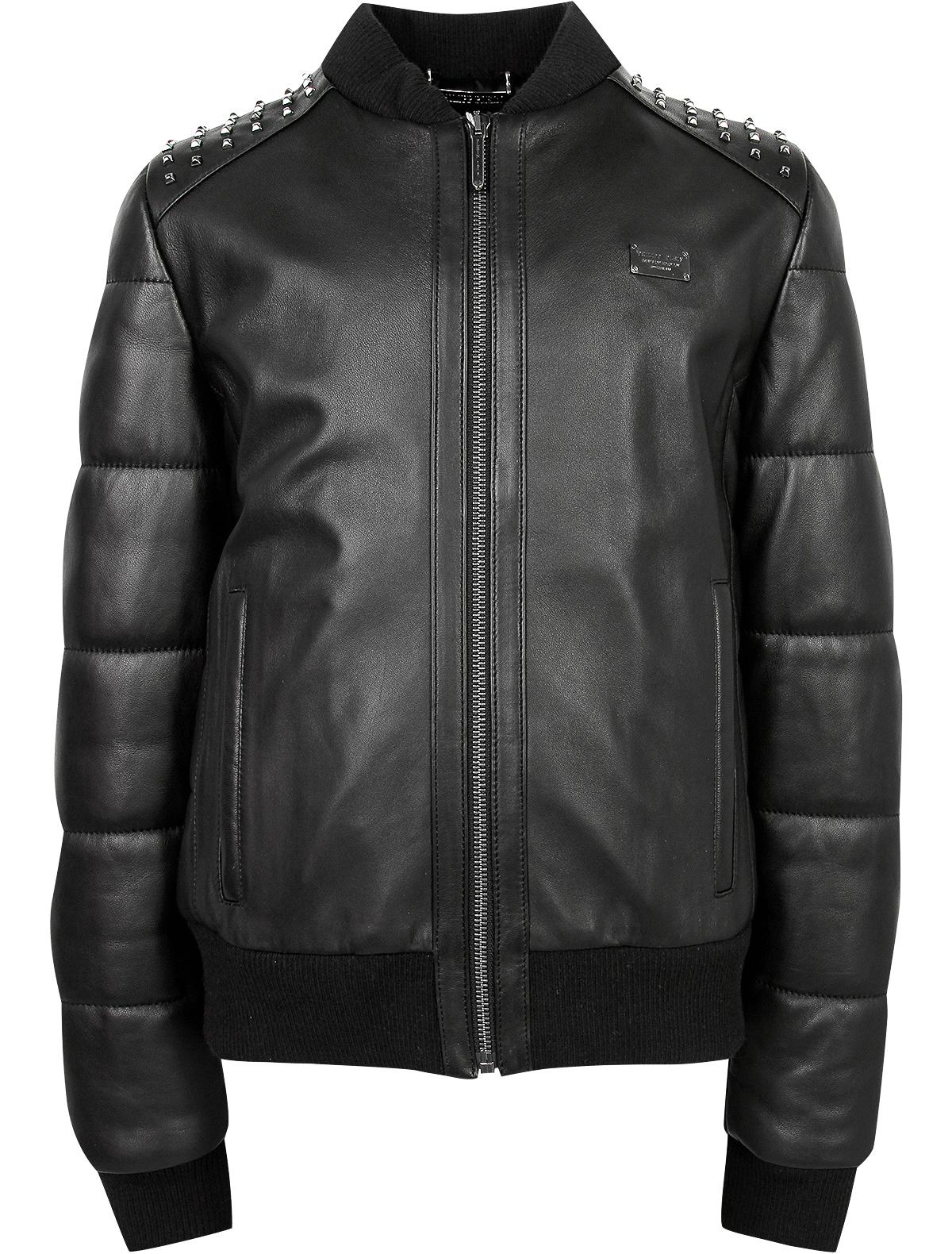 Купить 1873130, Куртка Philipp Plein, черный, Мужской, 1071118880609
