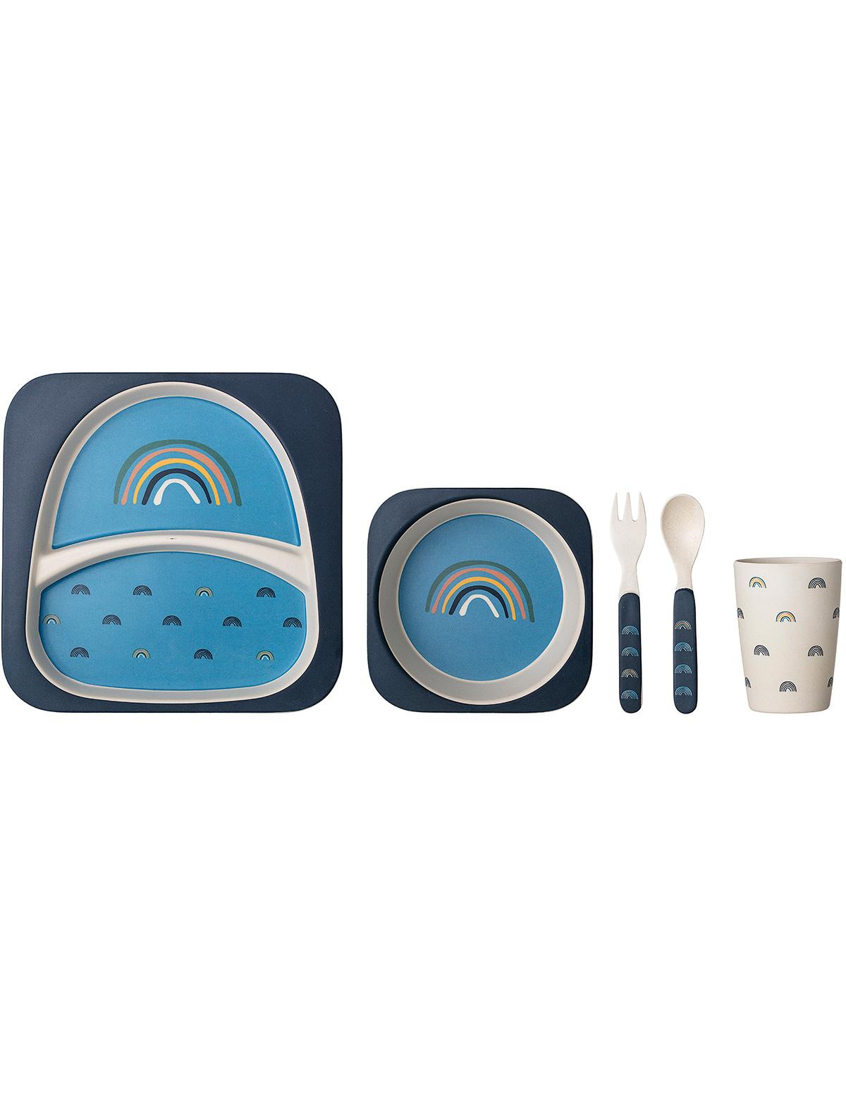 Купить 2213976, Набор посуды Bloomingville, синий, 2294520070058
