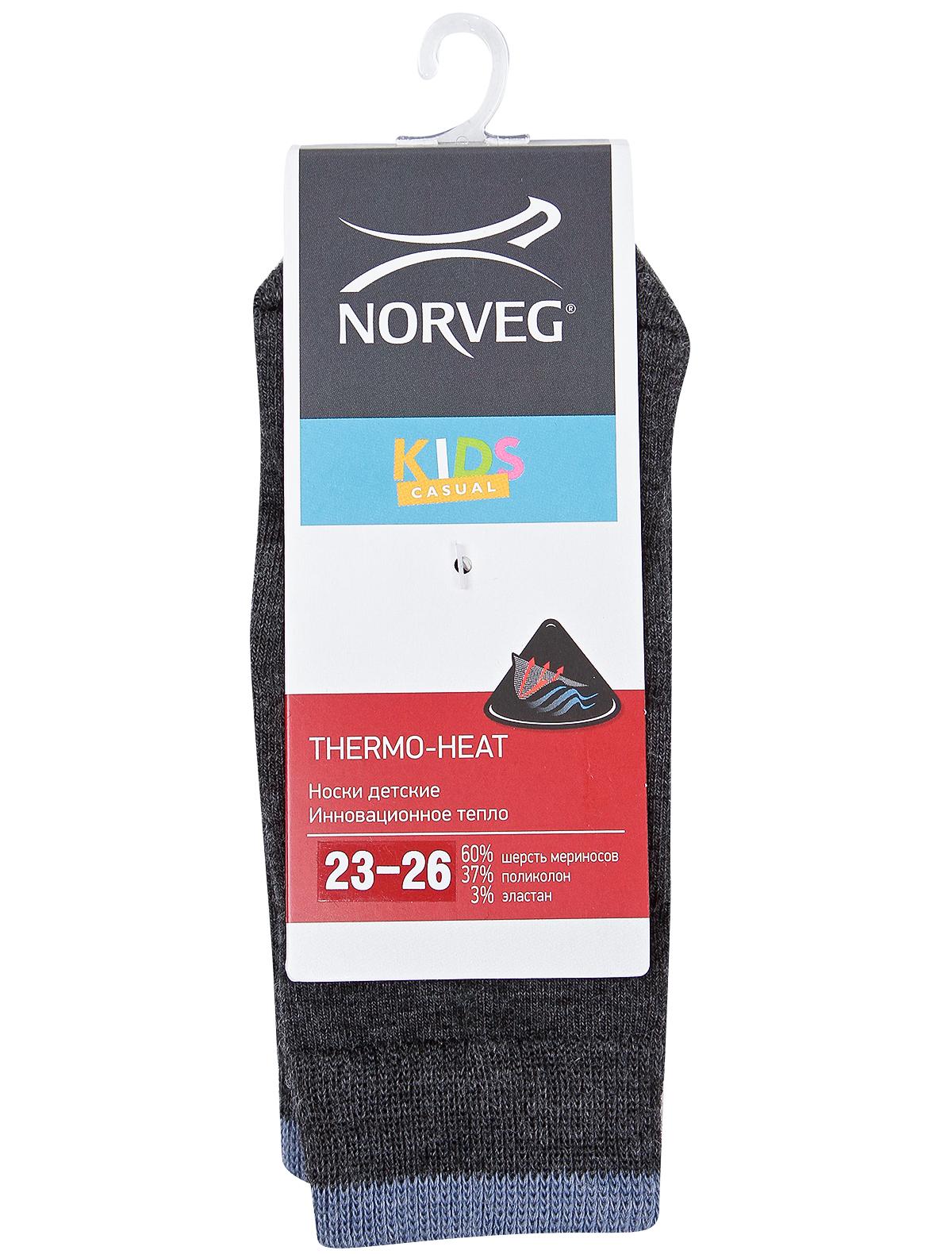 Купить 2106611, Носки NORVEG, серый, Мужской, 1531719980011
