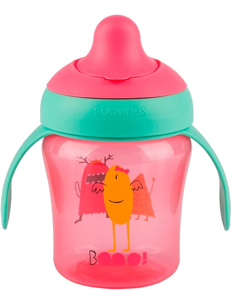 Бутылочка Suavinex 2258241 розового цвета