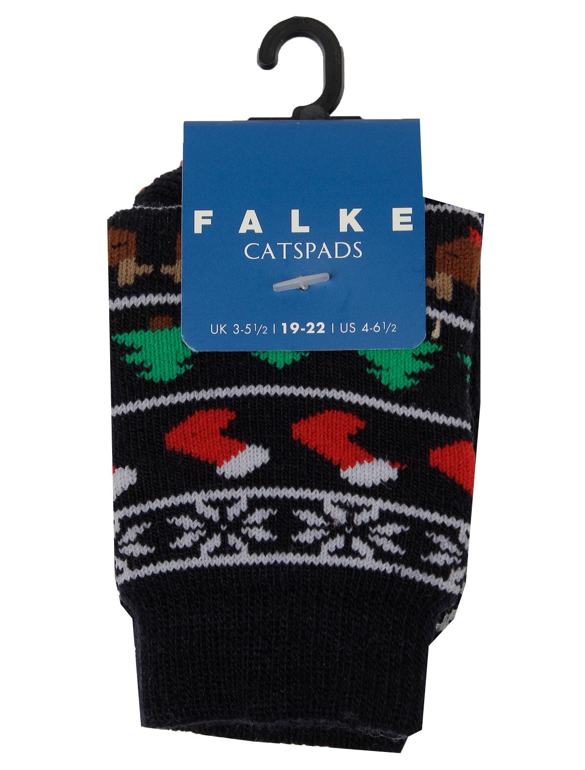 Купить 2126121, Носки FALKE, синий, 1531429980059