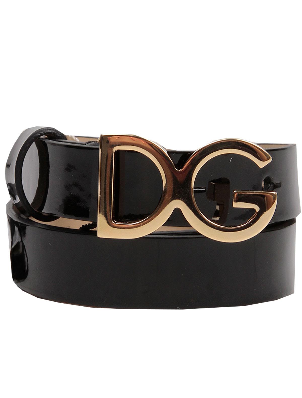 2151174, Ремень Dolce & Gabbana, черный, Женский, 1301108070025  - купить со скидкой