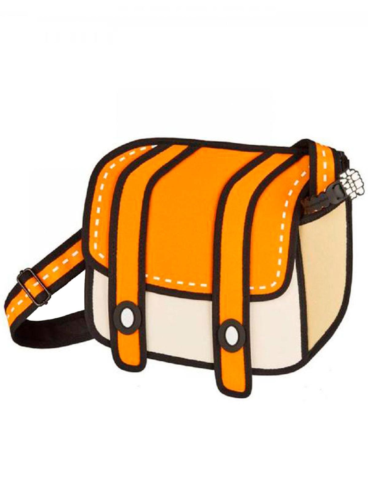 Купить 2220620, Сумка Jump From Paper, оранжевый, Женский, 1204508080017