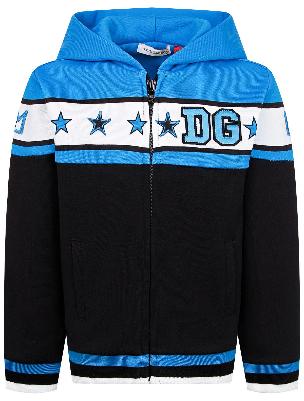 Купить 2231548, Толстовка Dolce & Gabbana, синий, Мужской, 0074519080693