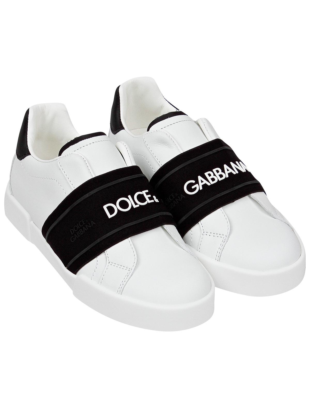 Купить 2175420, Кеды Dolce & Gabbana, белый, 2094529070284