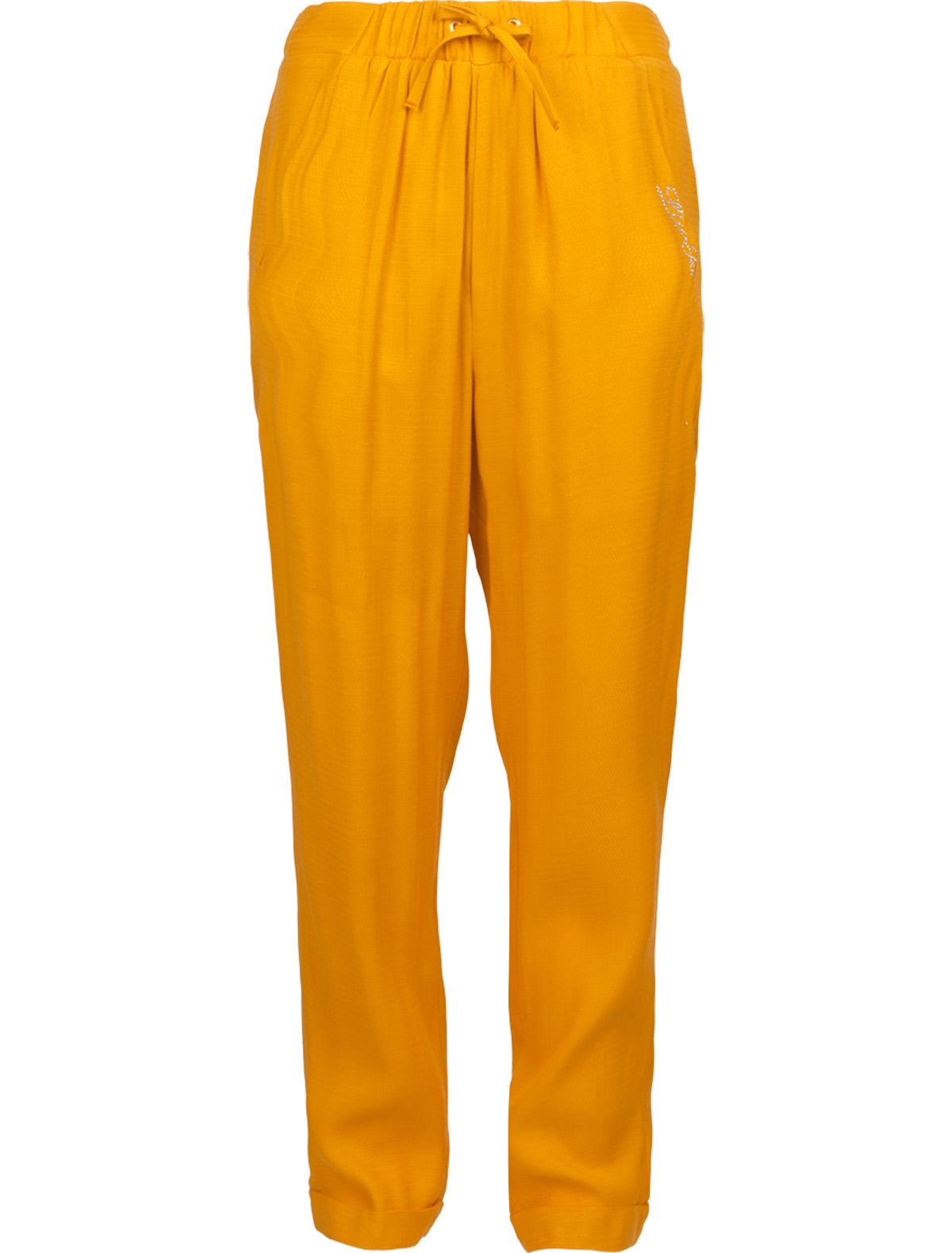 Купить 1878105, Брюки Liu Jo Junior, оранжевый, Женский, 1082409670335