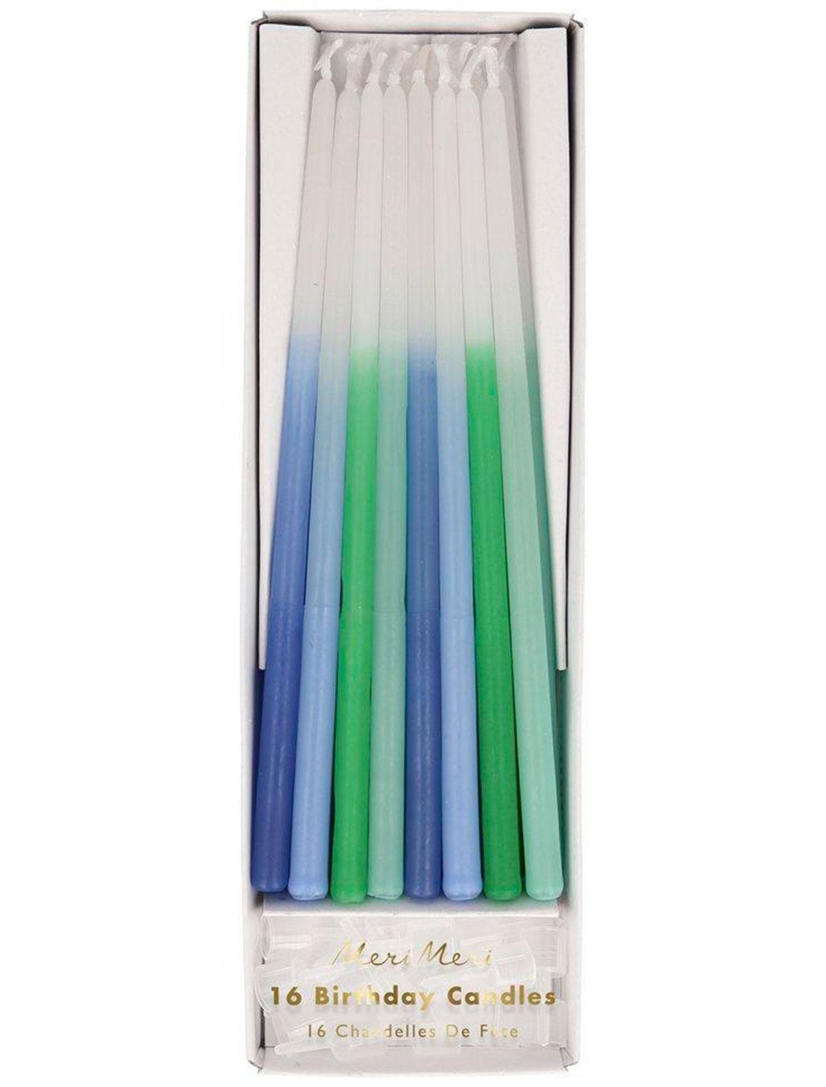 Купить 2221341, Свеча Meri Meri, разноцветный, 6374520080243