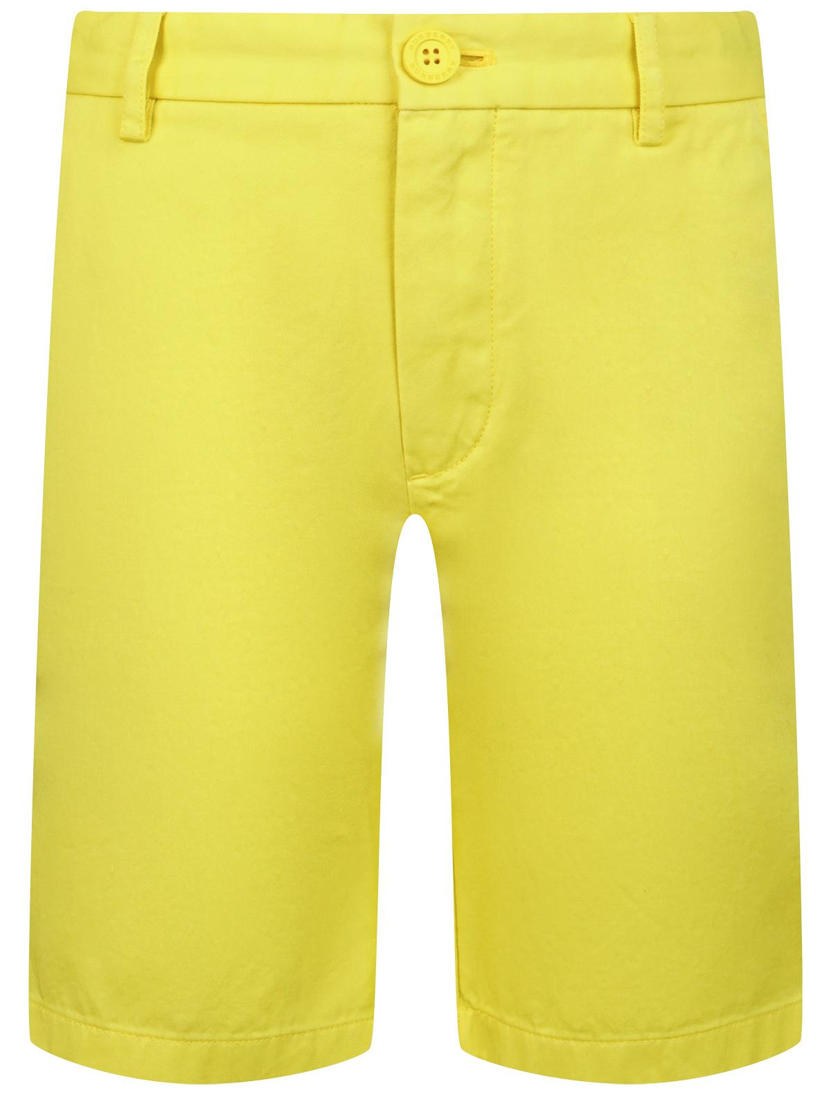 Купить 1955589, Шорты Burberry, желтый, Мужской, 1412819971010