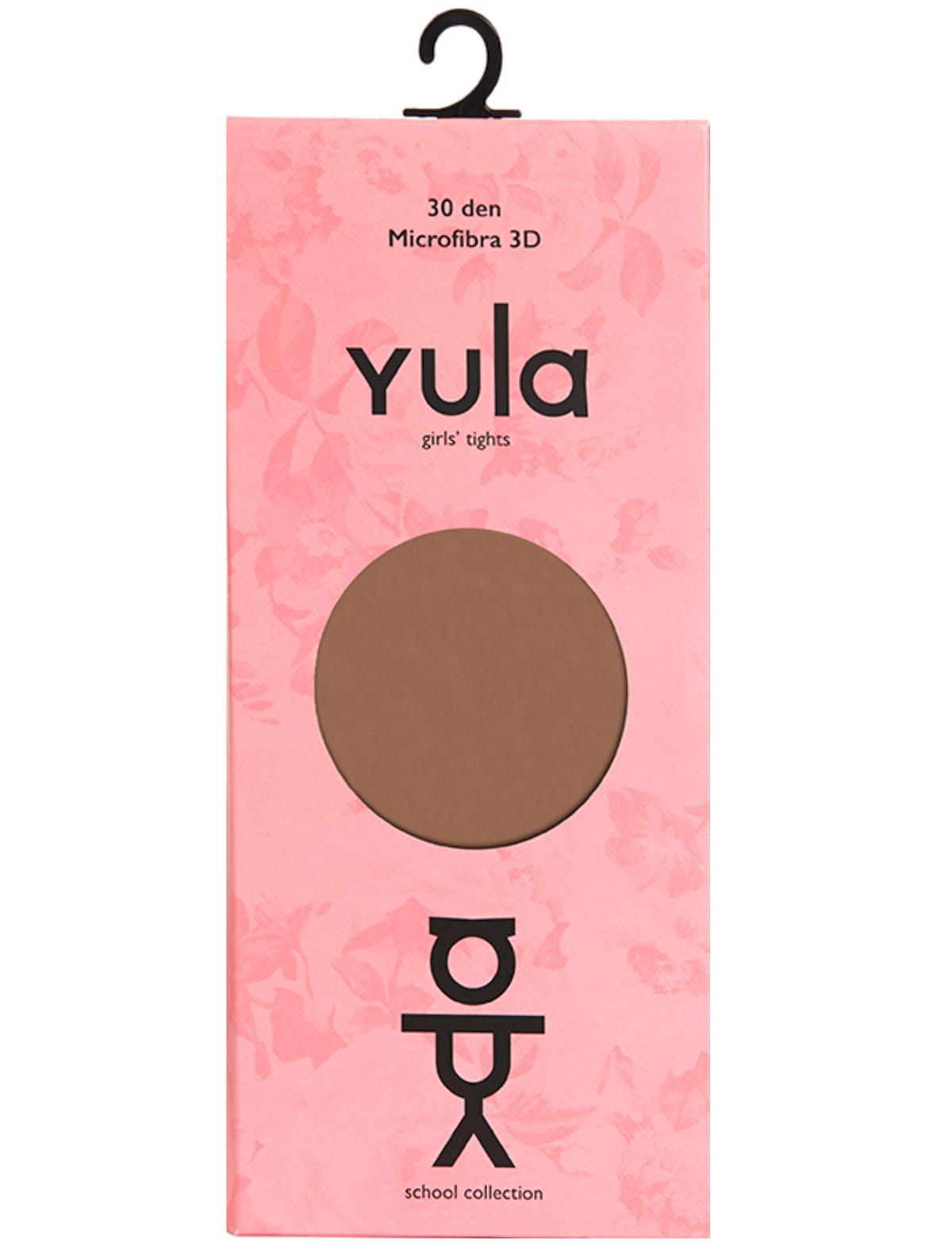 Купить 2225395, Колготки YULA, коричневый, Женский, 1294509080277