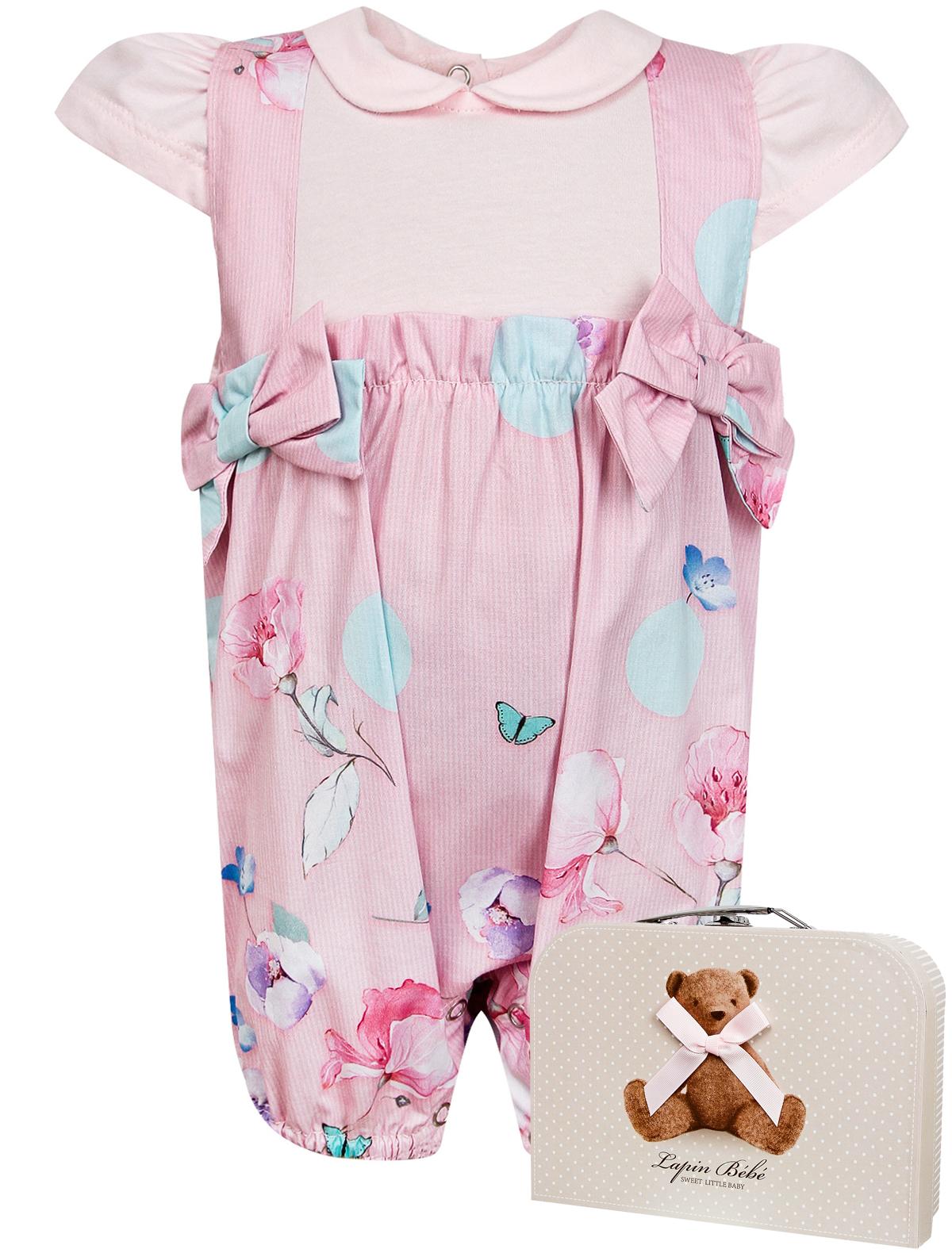 Купить 2151636, Боди Lapin House, розовый, Женский, 1252609070321
