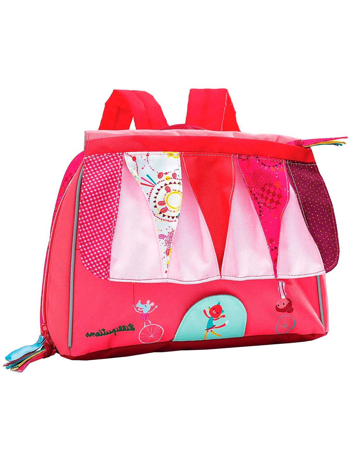 Купить 2258116, Рюкзак Lilliputiens, розовый, Женский, 1504508080346